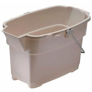 Rubbermaid Inc 14Qt Bisque Bucket 2989-00 Bisq Buckets