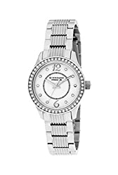 Giordano Analog Mother of Pearl Dial Womens Watch - P203-22
