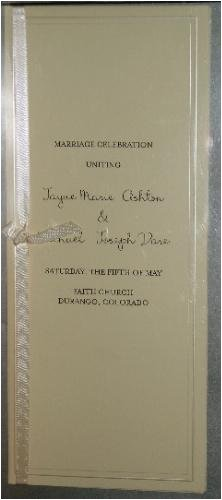 Print Your Own Wedding Invitations Programs Place Cards And More