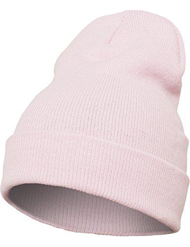 flexfit-berretto-di-peso-medio-unisex-mutze-heavyweight-long-beanie-baby-rosa-taglia-unica
