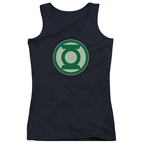 Green Lantern-Simbolo-Canottiera ragazzi, colore: verde Nero  nero