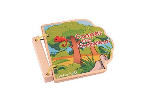 EverEarth Safari Wooden Book EE33597
