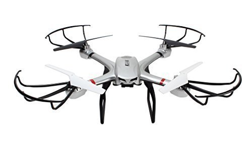 Ionic-S900R-24G-Headless-RTF-Quadcopter-Drone-for-GoPro-with-Includes-720P-HD-FPV-Camera-Silver-Compatible-with-GoPro-Hero-4