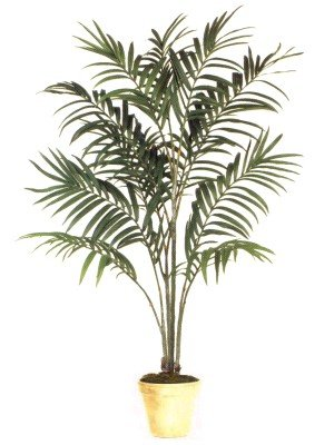 Kentia DTcor Artificial Silk Palm Tree Plant 8′