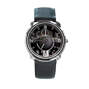 Queen Ali Custom Steering Wheel Men's and Women's Sport Watches Business Watch With Leather Band