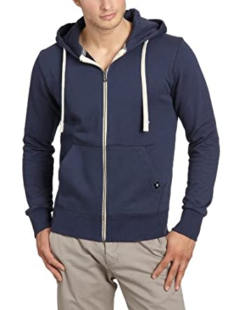 JACK & JONES Herren Sweatjacke 12059554 Storm Sweat, Gr. 48 (S), Blau (NAVY BLUE)