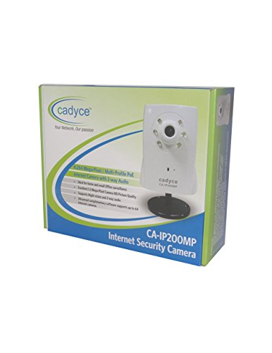 Cadyce CA-IP200MP IP Camera