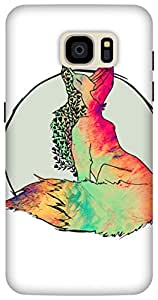 The Racoon Grip Foxy Vixen hard plastic printed back case / cover for Samsung Galaxy S7