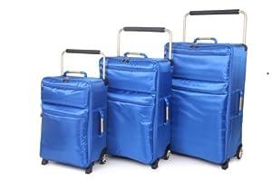 IT World's Lightest Sub-0-G Ultra Lightweight Luggage Single Medium Case in Royal Blue