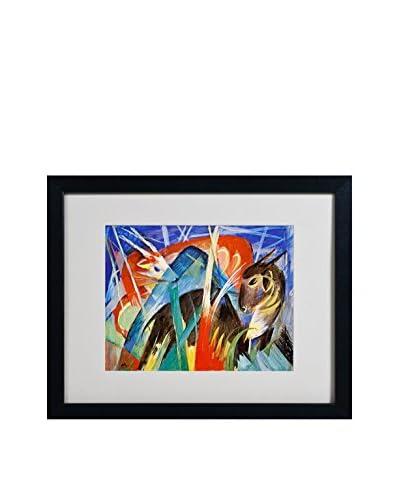 """Franz Marc """"Fairy Animals 1913"""" Artwork"""