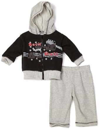 Amazon Baby Essentials Baby boys Newborn 2 Piece Rock