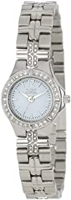 Invicta Womens 0126 II Collection Crystal Accented Stainless
