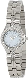 Invicta Women's 0126 II Collection Crystal Accented Stainless Steel Watch