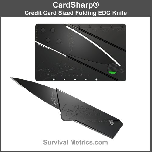 Cardsharp*2 Wallet Folding Knife For Every Day Carry (Edc)