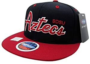 Buy NCAA San Diego State Aztecs Script Style Snapback Hat by Eclipse Specialties