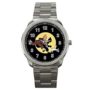 Uk ada021 new the adventures of tintin sport metal watch watches for Adventure watches