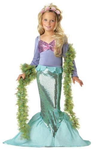 Little Mermaid Child Costume - Small