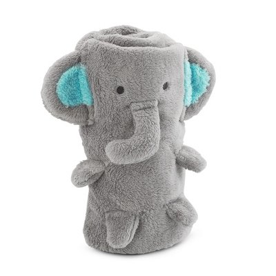 Personalized Elephant Blanket front-99141