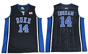 #14 Brandon Ingram V Neck College Basketball Mens Elite Jersey
