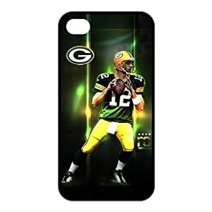 NFL Green Bay Packers Aaron Rodgers Treasure Design APPLE IPHONE 4 4s Best Silicone Cover Case by NFL Green Bay Packers