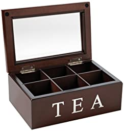 Mark Feldstein and Associates TBX6 Tea Chest 6 Compartment