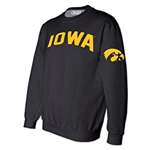 Iowa Hawkeyes Classic Crew Sweatshirt by E5