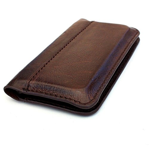 Genuine Italian Real Leather Case for Iphone 5 5s 5 5c Book Wallet Handmade S Luxury Flip Pro (Italian Leather Cell Phone Case compare prices)