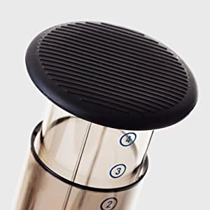Travel Cap for use in Aeropress Coffee Maker from Able Brewing
