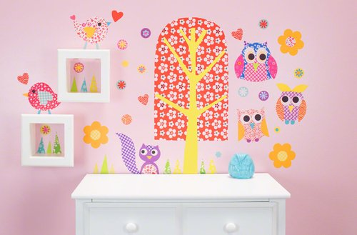 Oopsy Daisy 28 by 35-Inch Peel and Place Patterned Park by Rachel Taylor, Small