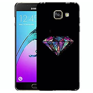 Theskinmantra Colorful diamond Samsung Galaxy A7 (2016 Edition) Mobile back cover