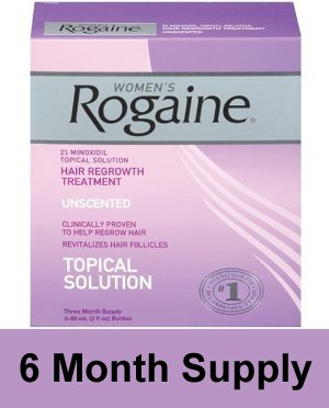 Rogaine for Women - Unscented Hair Regrowth Treatment