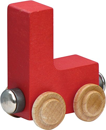 NameTrain Bright Finish Letter Cars - L