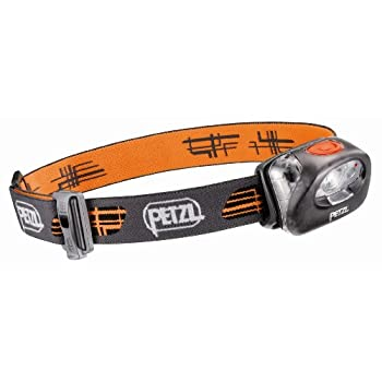 Petzl-Lampe Frontale Power Led Petzl TIKKA XP 2 Grise + LED Rouge + Volet Grand Angle + Piles