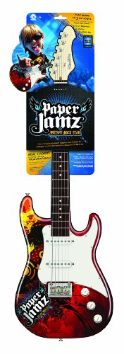 wow wee paper jamz guitar series ii style 1 Paper jamz guitar series 1-find the best deals wow wee paper jamz guitar series ii - style 1 wow wee paper jamz guitars series ii style 1 sb guitar.