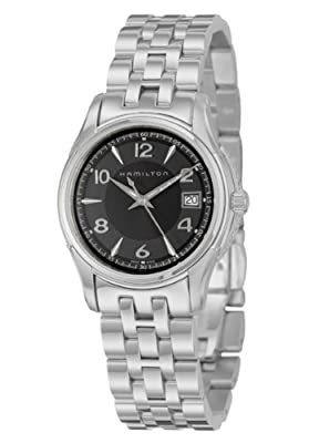 Hamilton Women's H32311135 Jazzmaster Black Dial Watch