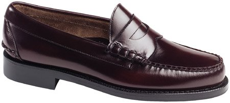 Johnston & Murphy Men's Ski Moc Slip-on,Burgundy,13 E