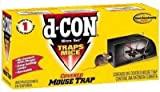 d-CON 00027 Ultra Set Covered Mouse Trap