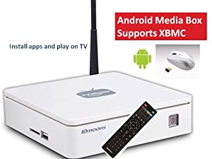 X3 Android 4.0 Media Box with Wireless Mouse; Android TV Internet Computer Box