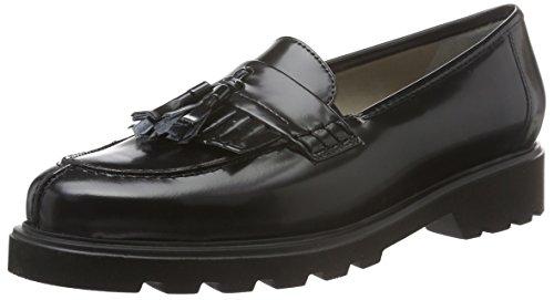 ara Harvard - Mocassini Donna, colore nero (schwarz 07), taglia  36.5 EU (3.5 UK)