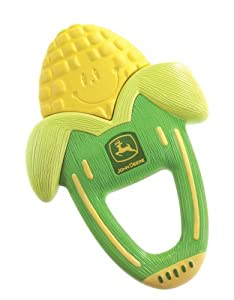 The First Years John Deere Massaging Corn Teether, 3 pack from The First Years
