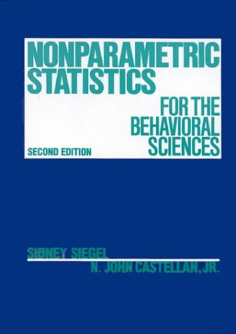 Nonparametric statistics for the behavioral sciences