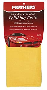 Mothers Ultra Soft Microfiber Polishing Cloth by Mothers