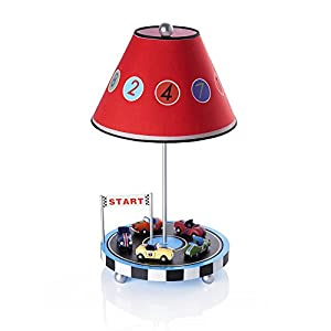 Guidecraft Retro Racers Table Lamp G85807