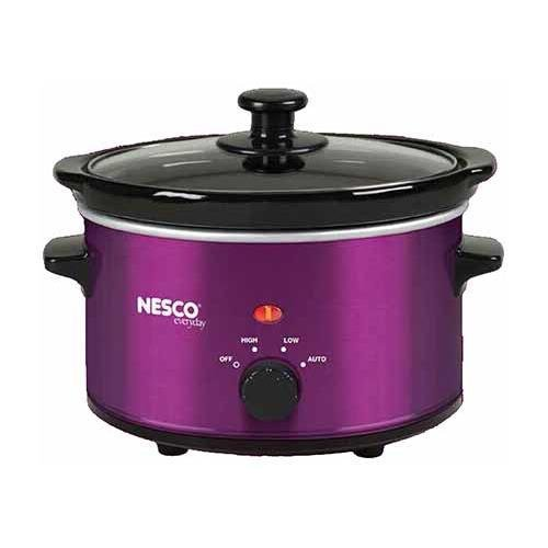 Nesco SC-150V 1.5 Quart Slow Cooker - Violet Metallic - 120w (NescoSC-150V )