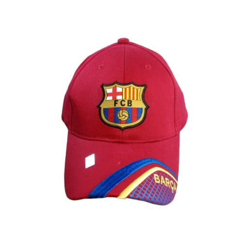 FC BARCELONA OFFICIAL TEAM LOGO CAP / HAT   FCB029