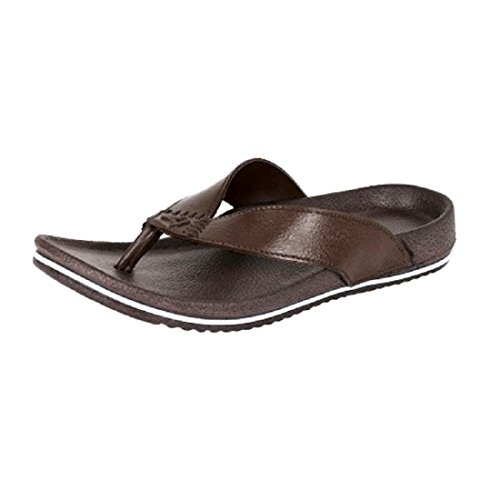 Aircum Men's Brown slipper -9  available at amazon for Rs.133