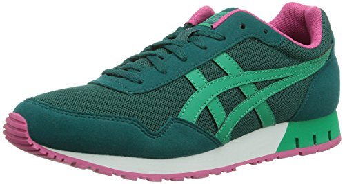 Onitsuka Tiger - CURREO, Sneakers da Donna, 8088-Shaded Spruce/Emerald, EU 39.5