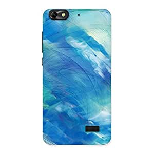 Stylish Art Blue Multicolor Back Case Cover for Honor 4C