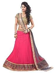 Krishna Emporia Women's Net Lehenga Choli