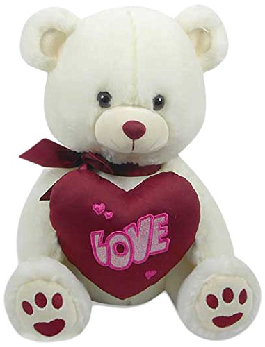 Archies Soft Toy Bear with Heart, Multi Color
